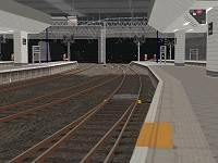 A stopping point on one of Birmingham New Street's platforms