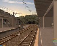 openBVE v1.0.5.0, Chashinai Railway, Smooth Transparency option enabled--click to enlarge
