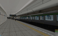 openBVE v1.2.2 and Saijou Line--click to enlarge