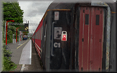 openBVE / Watford Junction to Rugby screenshot - please see video above