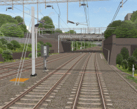 openBVE v1.0.6, Watford Junction to Rugby (Watford Junction)--click to enlarge