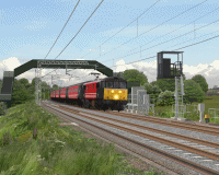 openBVE v1.0.6, Watford Junction to Rugby (Near Blisworth)--click to enlarge