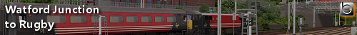Railsimroutes.net - Watford Junction to Rugby Project banner